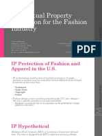 Medenica Law CLE - Intellectual Property Protection for the Fashion Industry