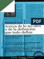Cusa - La definición que todo lo define.pdf