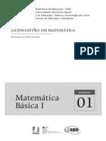 Pré-Cálculo (Revisão) - IfCE