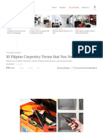 10 Filipino Carpentry Terms That You Need to Know _ RL