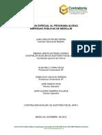 Evaluacion Programa de Vivienda Social Epm Medellin