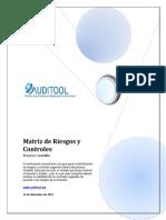 Matriz de Riesgos y Controles Proceso Contable