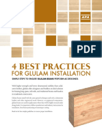 4 Best Practices for Glulam Installation