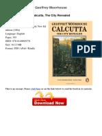Calcutta the City Revealed Geoffrey 43376549