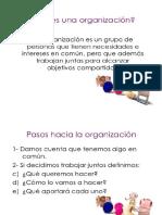 Tema 4 La Organizacion