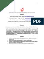 Preparacion y Analisis Del Ion Oxalatos Con Elementos Del Grupo Principal