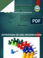 Estrategias de Una Organización
