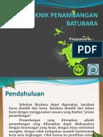 Presentasi - Teknik Penambangan Batubara (Kel 5)