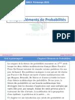 Chapitre 3 Eléments de Probabilité by ExoSup.com