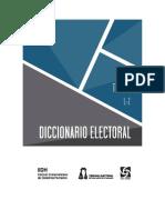 Diccionario Electoral Tomo II