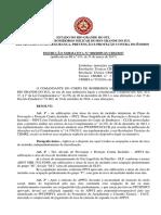 Instrução Normativa Nº 008 2017 Estabelece Instruções Complementares Ao PPCI e PSPCI
