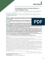 Efeito Da Freqüência Do Exercício Físico No Controle Glicêmico e Composição Corporal de Diabeticos 2