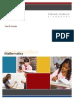 4th grade math standards