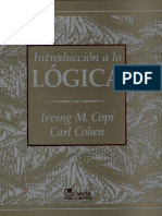 Irving Copi - Introduccion a La Logica