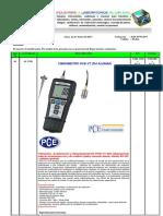 Vibrometro Pce-Vt 204 Aleman