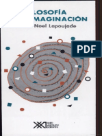 Maria Noel Lapoujade - Filosofia de La Imaginacion