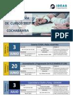 Cronograma IC CBBA