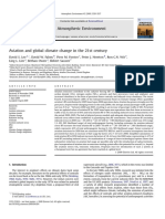 Aviation and Global Climate Change in Th
