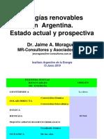 Informe Energias Renovables Argentina