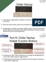 Startup Chiller