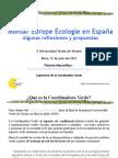 Montar Europe Écologie en España