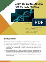 Aplicación de La Ingenieria Genetica en La Medicina