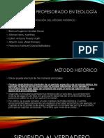 Presentación Del Método Historico