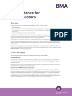 Tax Guidance for Junior Doctors