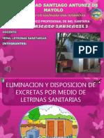 LETRINAS SANITARIAS