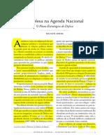 A Defesa Na Agenda Nacional
