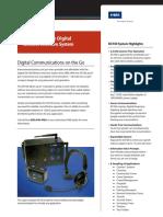 Portable Digital Wireless Intercom DX100 Datasheet