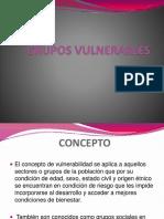 GRUPOS VULNERABLES
