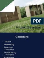 Projekt Beanbox –Projektpräsentation