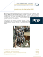 International Tax Compact - News From First Half of 2010