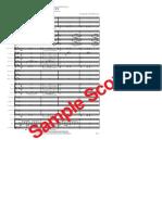 My Way - Score - Band