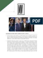 Escenario Electoral - MV Asesores