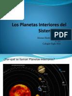 Los Planetas Interiores del Sistema Solar.pptx