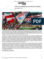 Bamor Versus Imbatíveis, Rivalidade Que Vai Além Do Futebol » Aratu Online