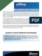 Cartella Stampa Premium on Demand 19-11-2009
