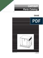 965-0207 Onan GHAB (Spec a) Genset Parts Manual (07-1999)