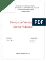 Biomas de Venezuela EXPOSICION