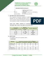 Informe Fitopatológico Vid,Banano y Limon