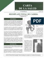 070 Reemplazo Total Cadera