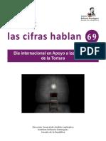 26-06-17 Día Internacional en apoyo  a las víctimas de la tortura.