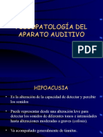 Clase4Fisiopatologiadelsistemaauditivo