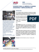 USAID RED Procesamiento Sanitizantes