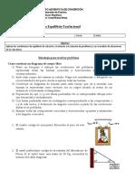 Guía equilibrio traslacional