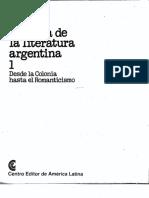 Historia de la literatura argentina- Tomo 1- Desde la Colonia hasta el Romanticismo (parte 1).pdf