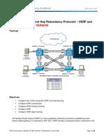 CCNPv7.1_SWITCH_Lab6-1_FHRP_HSRP_VRRP_INSTRUCTOR