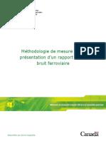 Methodologie Mesure Bruit Ferroviaire